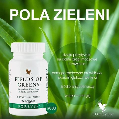 forever living pola zieleni