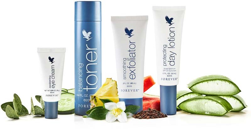 targeted skin care forever living products