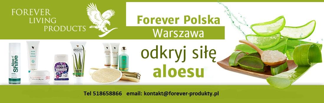 produkty Forever Living Odział Warszawa